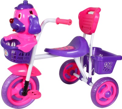 HLX-NMC Kids Scooby Puppy Tricycle Pink/Blue Tricycle(Blue)
