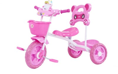 Baybee Maalito Tricycle - Pink Tricycle