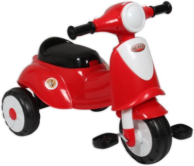 Ez, Playmates Italian Scooter Kids Tricycle Red Tricycle