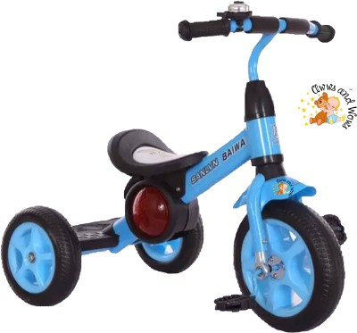 Awws & Wows Super Kid Metal Tricycle with Music & Lights Tricycle