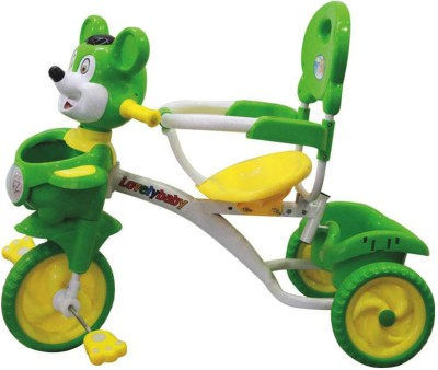 EZ, PLAYMATES MOUSE TRICYCLE GREEN Tricycle