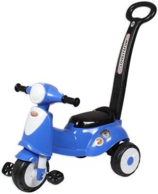 Ez, Playmates Italian Scooter Kids Tricycle With Navigator Blue Tricycle