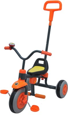 Happy kids HAPPY KIDS TRIKE WITH PUSH HANDLE ADJUSTABLE FOOT REST Tricycle