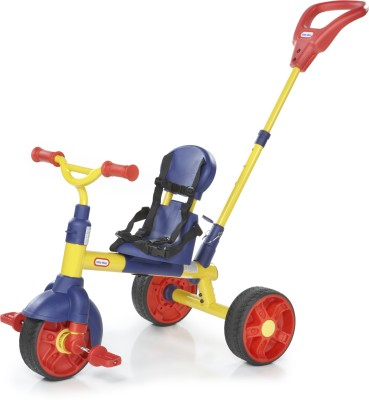 Little Tikes Learn To Pedal 3 In 1 Trike Tricycle(Multicolor)