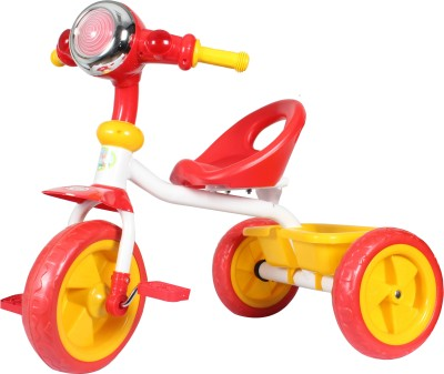 HLX-NMC Kids Cruiser Bike Tricycle Red/Yellow Tricycle