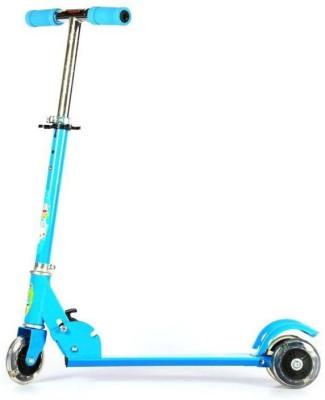 Toybee Three Wheel Folding Skate Scooty (blue) Tricycle