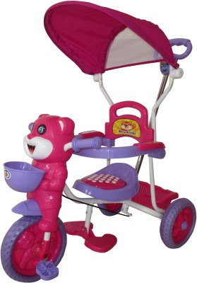 HLX-NMC TC8026D-PKPL Tricycle(Pink)