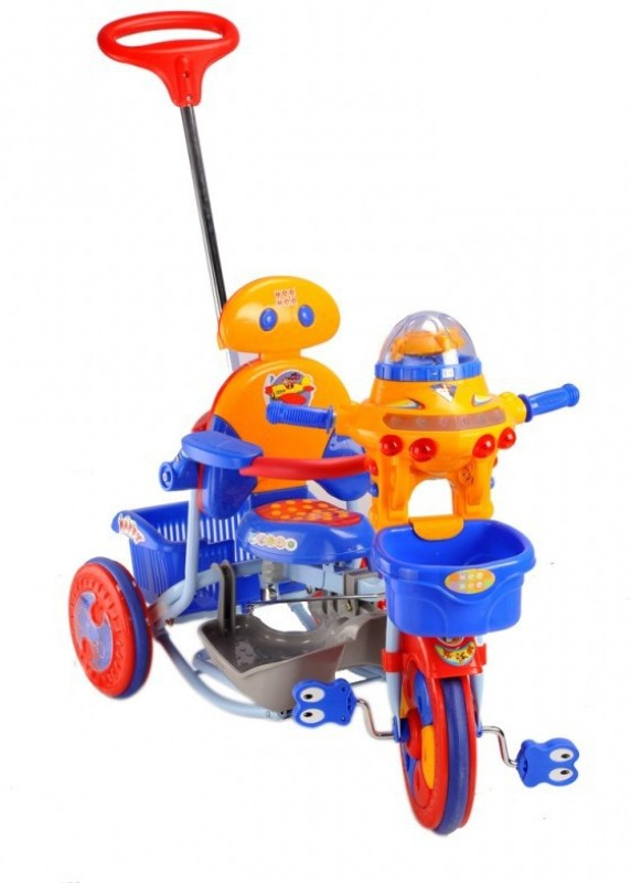 Mee Mee Robo Tricycle(Blue, Yellow)