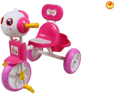 BAYBEE Baybee Broid Tricycle (Pink) Tricycle