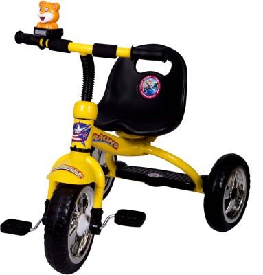 HLX-NMC Kids Racing Yellow Tricycle
