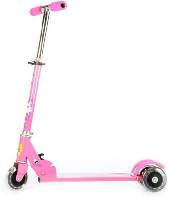 Toybee Three Wheel Folding Skate Scooty (pink) Tricycle