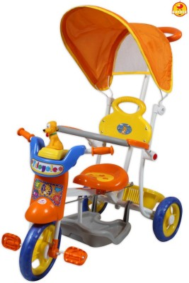 BAYBEE Pluto Trolly Cycle with Canopy and Parent Control Tricycle