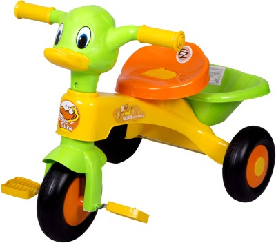 Ez, Playmates Kids Duck Cycle Yellow/Green Tricycle