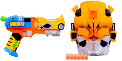 Lotus Transformer Gun & Fighter Mask Armor Toys Set