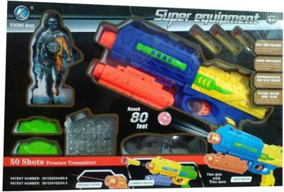 Turban Toys Super Equipment Toy Gun with 50 Shots