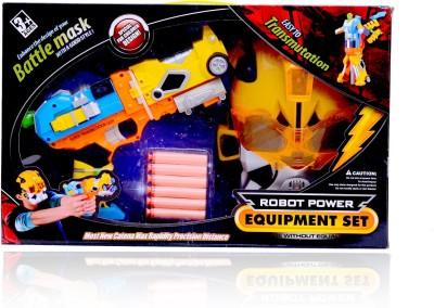 Planet of Toys Transformer Gun & Fighter Mask