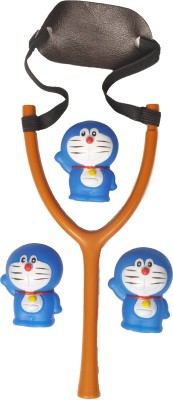 wishkey DORAEMON SLING SHOT CUM BATH TOY