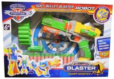 Taaza Garam Soft Bullets Blaster Robot Gun