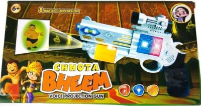 Turban Toys Chhota Bheem Projector Gun