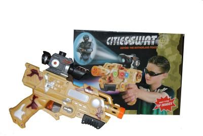 Scrazy Cities Swat Projector laser Gun with Sound