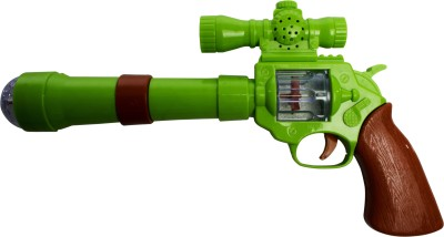 Buds N Blossoms Projection Music Strike Toy Gun