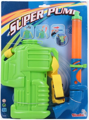 Simba Water Blasters Super Pump Shooter With Water Tanks(Multicolor)
