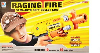 Just Toyz Raging Fire Semi Auto Soft Bullet Gun