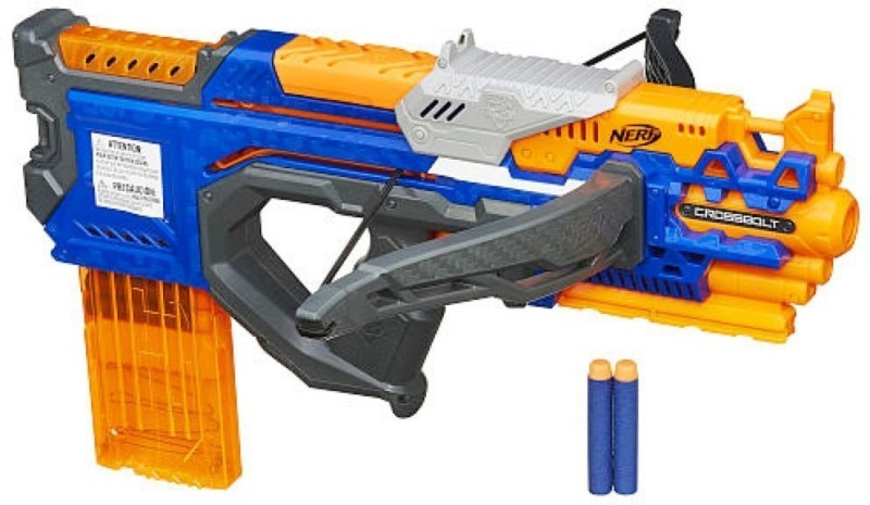 Nerf N Strike Elite CrossBolt Blaster(Multicolor)