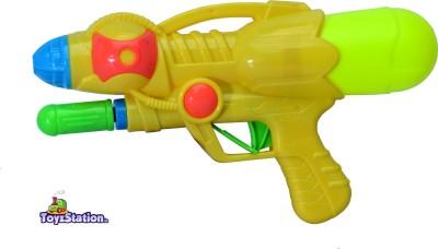 Toyzstation Mini Pressure Water Gun Pichkari With Free Balloons Assorted(Multicolor)