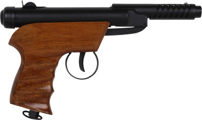 Y-O-U Bond Series-2W Air Pistol For Target Practice Metal Body with Wooden Handle