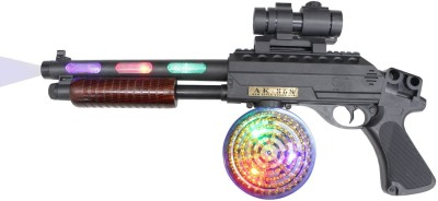 Feng Fa Toys Gun with Flashing LED Lights