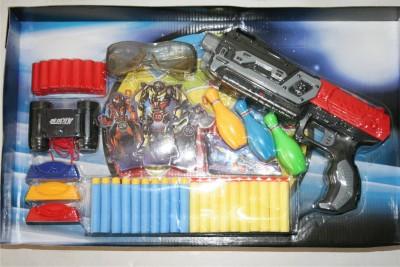 Adraxx Semi Auto Soft Dart Shooting Gun Toy