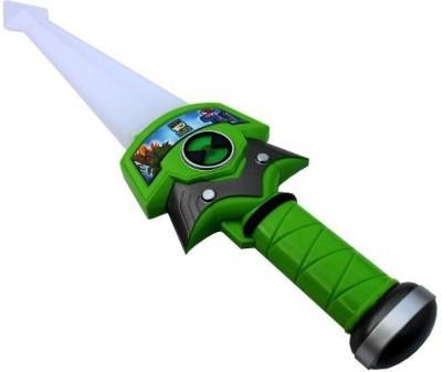 New Pinch Ben-10 Sword With Three Alien Figure