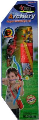Adraxx Super Recurve Archery Bow Toy Set With Suction Arrow Darts