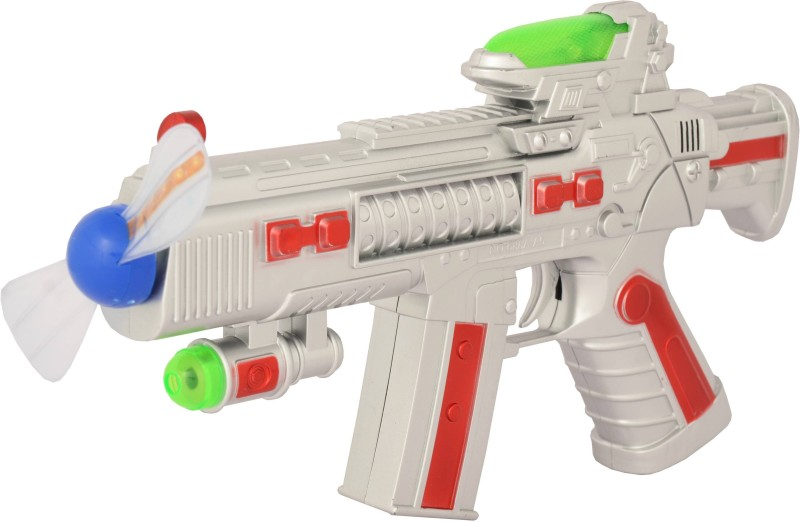 Just Toyz Space Gun Super(Multicolor)