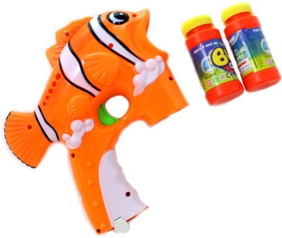 Lotus Cartoon Fish Bubble Gun