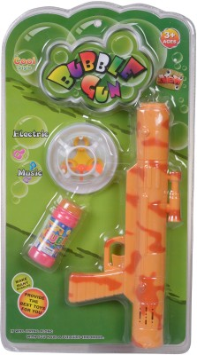 Starmark Battery Operated Musical Bubble-Maker Gun(Multicolor)