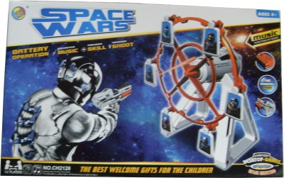 AYAANGLOBALMART SPACE WARS Battery Operated with Distinct Music