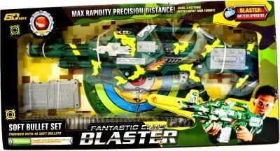 Joy Creations Battery Operated Fantastic Elite Blaster(Green, Yellow)
