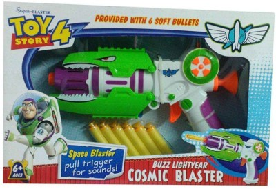 Turban Toys Buzz Lightyear Cosmic Blaster Toy Gun for kids
