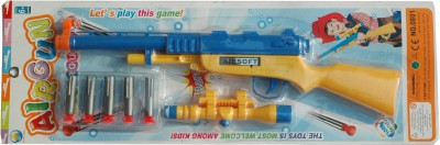 Air Gun Shooter Air Gun (8081)(Yellow, Blue)