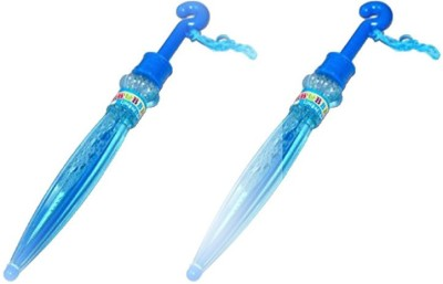 Y & J Umbrella Bubble Making Wand/Stick Pack Of 2