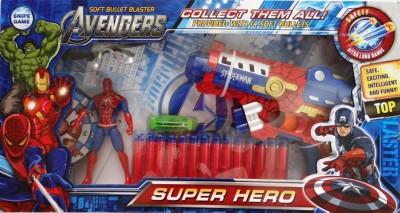 GoMerryKids Spiderman Avengers Super Hero Gun Set