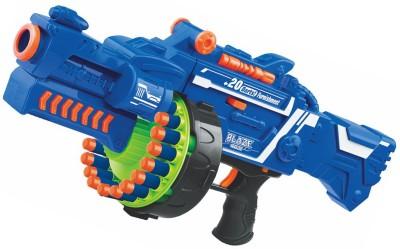 Emob Blaze Storm Soft Bullet Gun Battle Game Battery Operated(Multicolor)