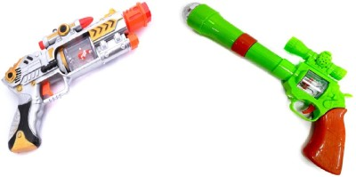 New Pinch Combo Of Musical lazer sound & projector strike gun for kids