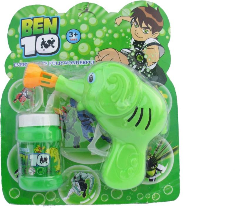 Asquare Mart Ben 10 Bubble Toy Gun(Green)