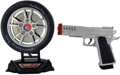 Surya Shoot Game With Infra Red Shooting Gun - Black