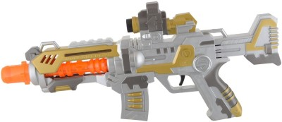 Shop & Shoppee Battery Operated Projection Machine Toy Gun with Flashing Light & sound(Multicolor)