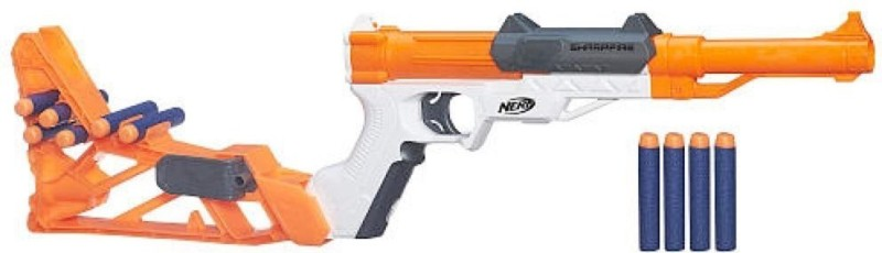 Nerf N Strike SharpFire Blaster(Multicolor)