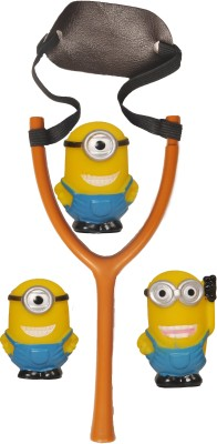 wishkey MINION SLING SHOT CUM BATH TOY